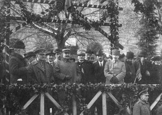 إعلان الإستقلال في الـ 26 من مايو عام 1918