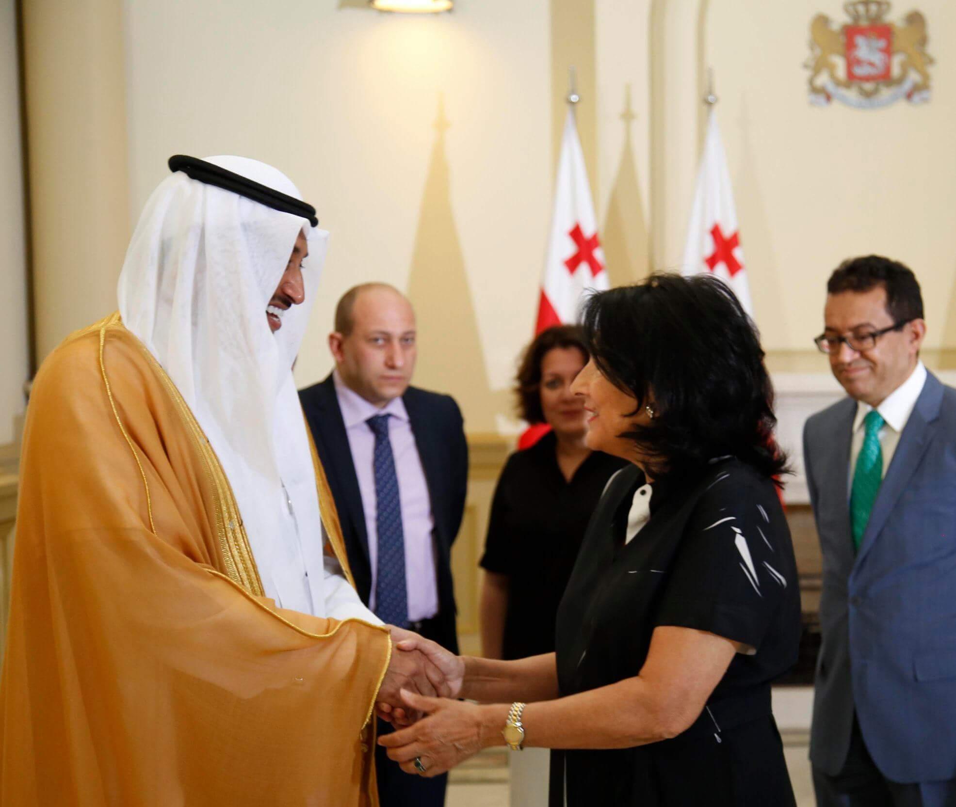 سفير السعودية في جورجيا