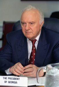 الرئيس الأسبق الجورجي إدوارد شيفرنادزه