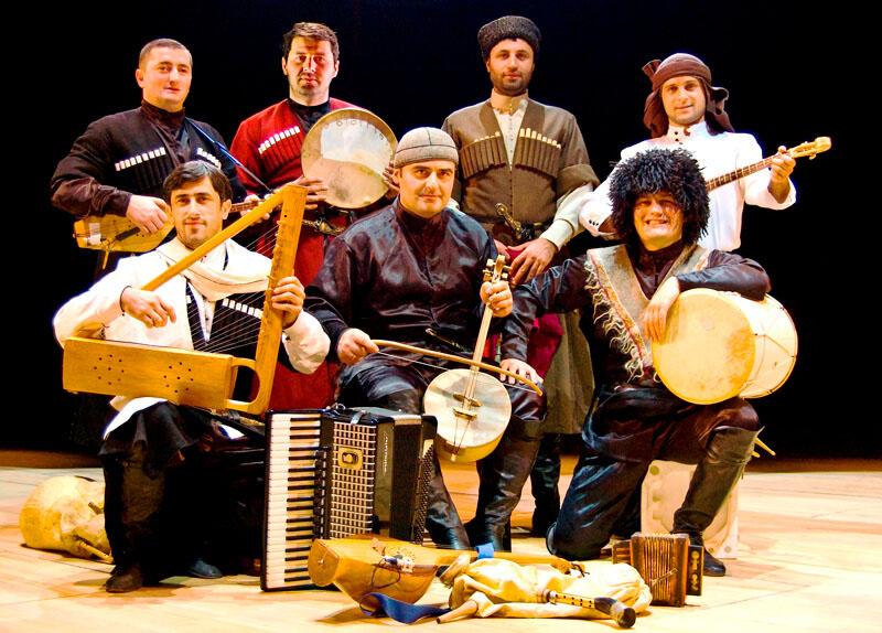 موسيقى الفلكلور الجورجي في باتومي