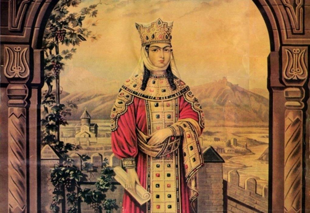 الملكة تمار حفيدة أغماشنبيلي ، أول امرأة ملك